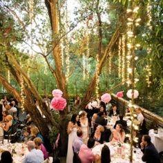 this looks AMAZING. Green Weddings: Week Four, Choosing an Eco-Friendly Wedding Venue (Image via Ruffled)