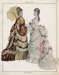 Casey Fashion Plates Detail | Los Angeles Public Library The Queen Date: Friday, August 1, 1873