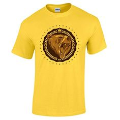 74343099 Bang Tidy Clothing Men's Daddy Bear T Shirt Yellow S BANG TIDY CLOTHING  http:/