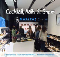 Nos encantó veros a todas en nuestra Flagship Store en #ayala13marypaz donde compartimos nuestra primera sesión Nail Bar Experience by MARYPAZ ¡Gracias a todas por venir a vernos! Nos vemos en la próxima ;) #summertimeMARYPAZ #crazyforshoes #cocktailnailsandshoes #cool #experience #marypaz #shopping #shoes #madrid Mas fotos aquí: https://www.facebook.com/media/set/?set=a.10153895678766124.1073741850.167369241123&type=3