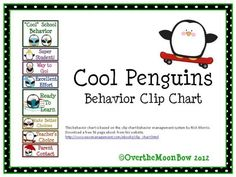 This cool, penguin themed behavior chart fits in well with the 'green–yellow–red' behavior system used in many schools, yet provides positive recognition for students who go above & beyond.