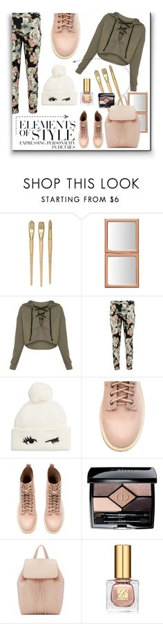 """Elements of Style"" by melody-renfro-goldsberry ❤ liked on Polyvore featuring Boohoo, Kate Spade, Christian Dior, Mansur Gavriel, Vera Wang and Estée Lauder"