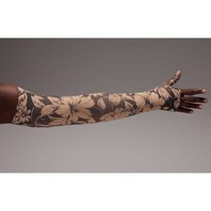 a191d2ea87 Unleash your inner diva with LympheDivas Bali Sand compression armsleeve.  Fashionable, comfortable, breathable, and designed to provide standard  graduated ...