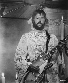 """Eric Clapton this outfit is """"out of sight"""" :)"""