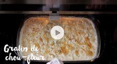 Découvrez notre recette facile de gratin de chou-fleur gourmand. A déguster en famille ou entre amis. Food And Drink, Vegetarian, Parmesan, Dishes, Cooking, Ethnic Recipes, Table, Flatbread Recipes, Vegetarische Rezepte
