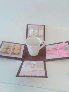 caixa de chá lembrança de casamento