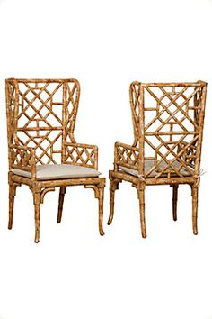 I pinned this Guildmaster Bamboo Wing Back Chair from the 4 Men 1 Lady event at Joss and Main! Christian Grey, Bamboo Furniture, Home Furniture, Furniture Ideas, Painted Furniture, Outdoor Furniture, Joss And Main, Bamboo Dining Chairs, Dining Table