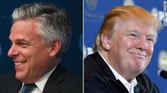 Former Republican presidential candidate Jon Huntsman said Monday that he would be inclined to support Donald Trump if the controversial real estate mogul secures the GOP nomination.