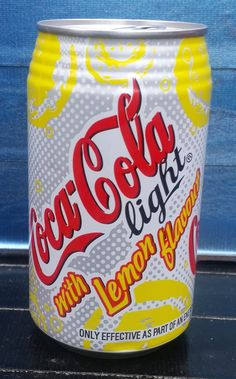 2004 Diet Coke Lemon 340ml (Sth African) Coca Cola Light, Coca Cola Can, Pepsi Cola, Dr Pepper Can, Ad Art, Diet Coke, Thrasher, Beverage, Clever