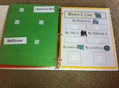 All About Me- Interactive Books