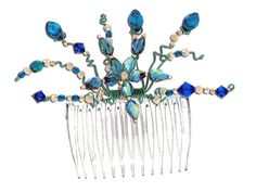How to Make Wire Wrapped Hair Comb Jewelry Tutorials - The Beading Gem's Journal
