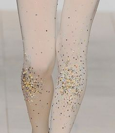 glitter leggings yes please Sparkly Tights, Glitter Leggings, Swarovski, Stocking Tights, Tight Leggings, Fashion Details, Fashion Accessories, Stockings, Beautiful