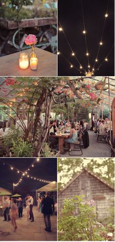The link to this picture is full of cool ideas for a very cool wedding