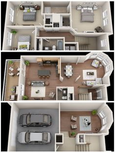°upstairs °living room /kitchen °downstairs/basement