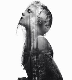 43 Ideas For Photography Arte Portrait Multiple Exposure Portraits En Double Exposition, Exposition Photo, Artistic Photography, Creative Photography, Portrait Photography, Photography Ideas, Photography Composition, Photography Books, Photography Lighting