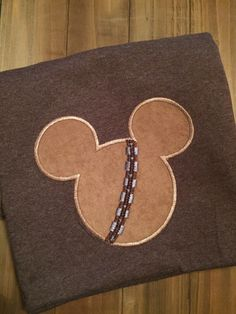 A personal favorite from my Etsy shop https://www.etsy.com/listing/454597346/chewbacca-mickey