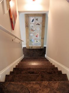 DIY Paper Bag Flooring--Okay, this is hardcore.  I might need to work up the nerve, but how cool!