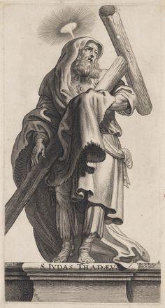 apostel (Judas Taddeüs), Pieter de Bailliu Bailliu, Pieter de (I) (1613-1660), 1650