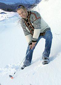 Golfing in Alaska <3