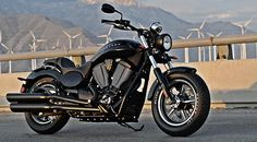 2013 Victory Judge Motorcycle Black