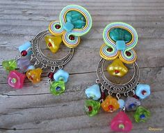 Ridgways / Hippie collection - flowers...soutache