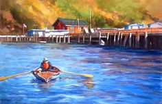 Erin Dertner's Easel Events: Rowin' on the River