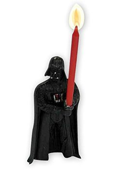 Star Wars Birthday Cake Candle Darth Vader black, made of wax. A cool original way to decorate your cake! Star Wars Darth Vader, Darth Vader Figure, Star Wars Cake Toppers, Star Wars Cupcakes, Sith Lord, Star Wars Birthday Cake, 4th Birthday, Birthday Parties, Star Wars Dark