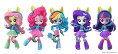 """ Catching up with my backlog of My Little Pony Equestria Girls Minis work, here is the school spirit range I modelled back in The ears and tails are removable. Designs / concepts by Hasbro. My Little Pony Dolls, Hasbro My Little Pony, Mlp, Goth Disney Princesses, My Little Pony Collection, My Little Pony Pictures, Princess Room, My Little Pony Friendship, 3d Character"
