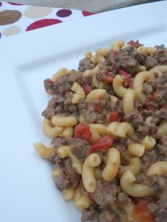 {Homemade} Hamburger Helper