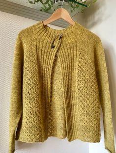 Summer Cardigan, Sweater Cardigan, Men Sweater, Sweater Knitting Patterns, Knitting Stitches, Knit Fashion, Knit Crochet, Balerina, My Style