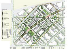 planta de localização - loteamento Urban Design Plan – CAD and Sketchup