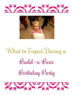 What to expect during a Build-a-Bear birthday party + 10% off coupon