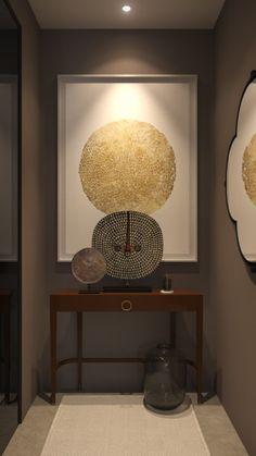 AKAR DE NISSIM IN NEW YORK - Interior design project by Akar de Nissim - Console SCRIBE in lacquered solid oak