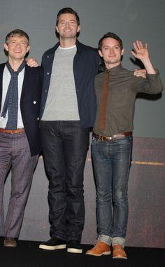 Eljah looks so..... little. // Richard looks so... tall! Martin looks so... patterned. XD (-SG)