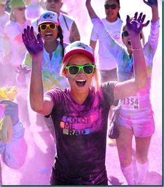 Color Me Rad Run!!!!!! Just a few months away!!!! I sooooo want to do this !!!!!!!
