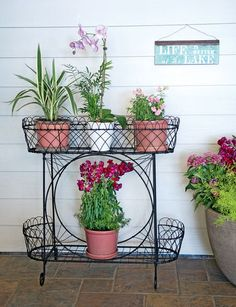 What is a plant stand? Plant stand is an ornamental element that helps you display your interior or outdoor plants on a beautiful platform. Plants stands come in a range of sizes, forms, . Read Best Plant Stand Ideas for Your Own Forest Decor, Plant Stand, Corner Plant, Modern Plant Stand, Cool Plants, Diy Plants, Diy Plant Stand, Metal Plant Stand, Glass Nesting Tables