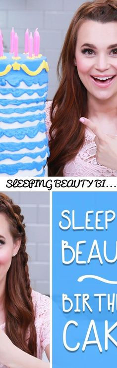 SLEEPING BEAUTY BIRTHDAY CAKE - NERDY NUMMIES... Tags: disney, walt disney, sleeping beauty, princess, cartoon, movie, 15 layer, 100 layer, layers, challenge, omg, crazy, insane, from scratch, tasty, delicious, chef, pastry, how to make, how to bake, how to, basic, simple, easy, step by step, guide, frosting, frost, icing, party, themed, birthday cake, wow, fairy, magic, kid, fun, cute, tutorial, godmother, disneyland, mickey, mouse, outfit, wardrobe, makeup, tips, tricks, hacks, diy, do it…