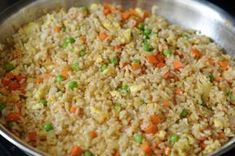 Met dit recept smaakt je rijst nét zo als bij de Chinees! Verrukkelijk!