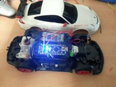 [Chet] is showing off the Bluetooth controller upgrade for this RC car. The donor vehicle is a rather inexpensive Porche which he purchased to make sure he didn't start hacking up his more expensi...