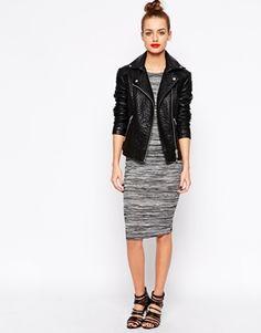 Enlarge New Look Cap Sleeve Midi Dress
