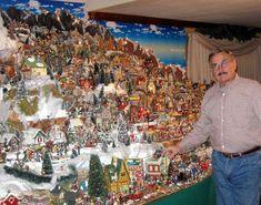70 Best Christmas Villages Images On Pinterest | Christmas pertaining to Complete Christmas Village Sets