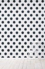 Wallpaper by ellos Callie-tapetti, musta Musta - Kuviolliset   Ellos Mobile