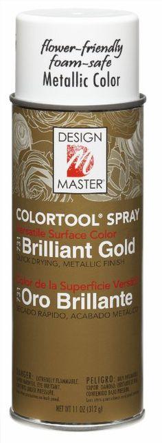 Design Master No.731 Brilliant Gold Colortool Spray