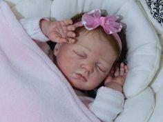 Adorable Sleeping Baby Girl 'Joshua' by Reva Schick...now Sophia (LDC Soft Line)