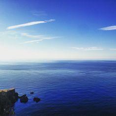 Ibiza November Days #blue #sea #sky #rocks #cliffs #nature #beauty #fashion #inspiration #moda #mar #cielo #azul #acantilados #naturaleza #belleza #vida