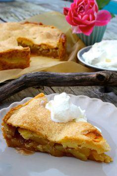 Paulas Frauchen: Apple-Cheesecake oder der leckerste Apfelkuchen, den ich je gebacken habe