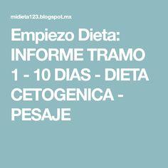 Asociacion dieta disociada 10 dias