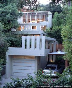 elliot house originally designed by rudolf m. schindler   restoration by marmol-radziner   silverlake, ca