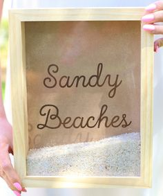 Look at this 'Sandy Beaches' Shadow Box on #zulily today!