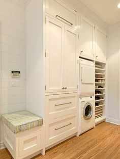 Mud Room/Laundry shoe storage
